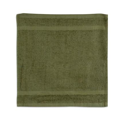 "Olive Gym Towel - 12"" x 12"" 1.0 lbs./doz."