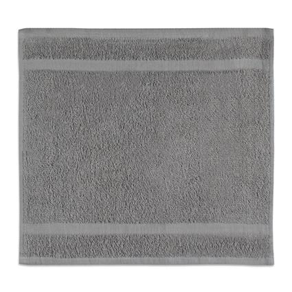 "Steel-Gray Gym Towel - 12"" x 12"" 1.0 lbs./doz."