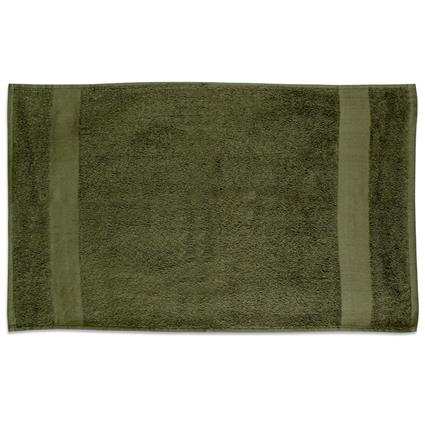 "Olive Gym Towel - 16"" x 27"" 3.0 lbs./doz."