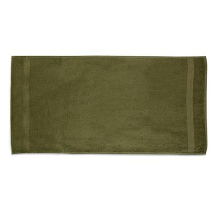 "Olive Gym Towel - 22"" x 44"" 6.0 lbs./doz."