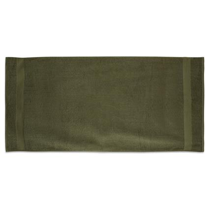 "Olive Gym Towel - 24"" x 50"" 10.0 lbs./doz."