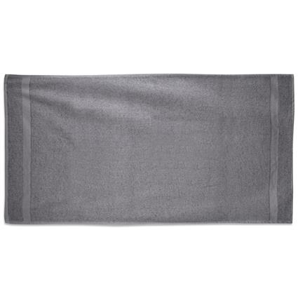 "Steel-Gray Gym Towel - 24"" x 50"" 10.0 lbs./doz."