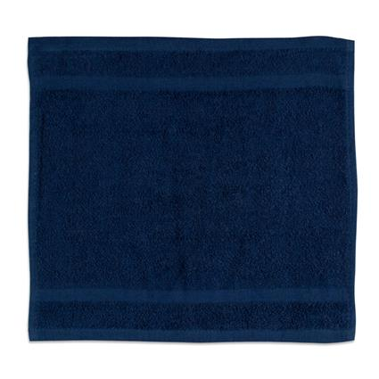 "Navy Gym Towel - 12"" x 12"" 1.0 lbs./doz."