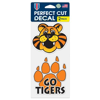 "Perfect Cut Decal - 4"" x 8"""