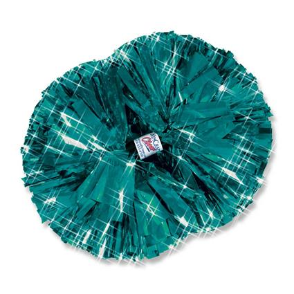 "Metallic Show Pom - 5"" Solid Color"