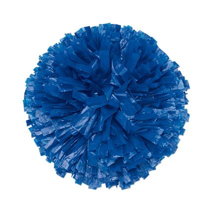 "Vinyl Show Pom - 6"" Solid Color"