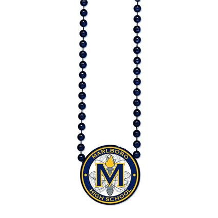Round Beads with Medallion - 1 Sided Decal