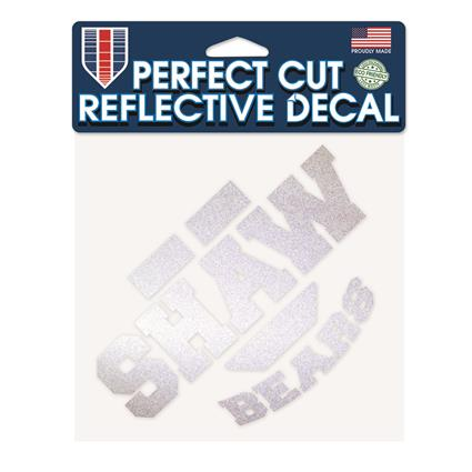 "Perfect Cut Reflective Decal - 6"" x 6"""
