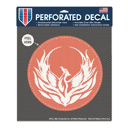"Perforated Decal - approx. 8"" Round"