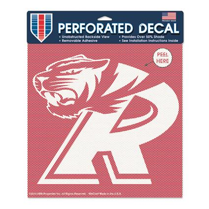 "Perforated Decal - 8"" Square"
