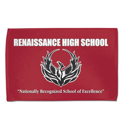 "Rally Towel, Full Color - 16"" x 25"" 2.5 lbs./ doz."