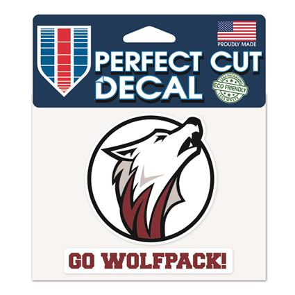 "Perfect Cut ""Slogan"" Decal - 4"" x 5"""