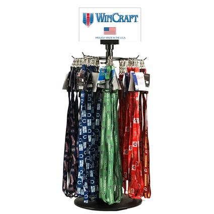 "Lanyard Counter Spinner Display - 25.5""H x 11""W x 11""D"