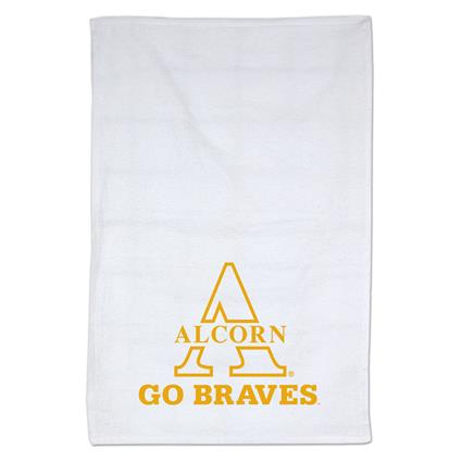 "Rally Towel, White - 16"" x 26"" 3 lbs./doz."