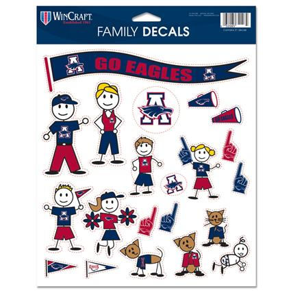 "Family Decal Sheet - 8.5"" x 11"""