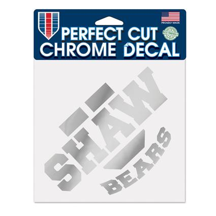 "Perfect Cut Chrome Decal - 6"" x 6"""