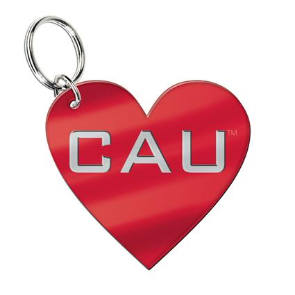 "Inlaid Key Ring - 1.96"" x 2.80"" Heart"
